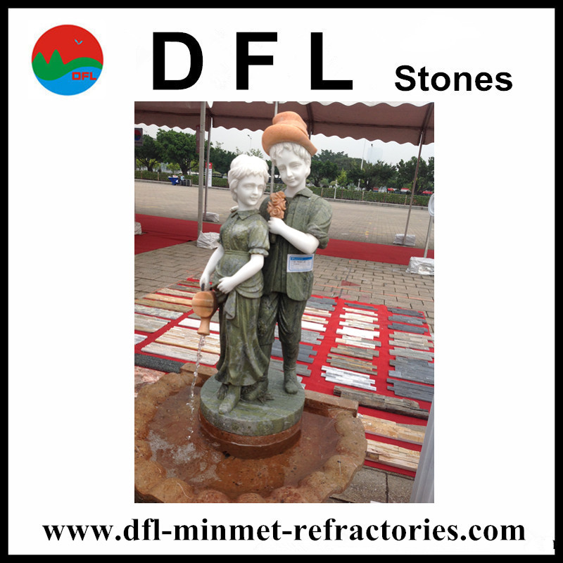 Children marble foutain